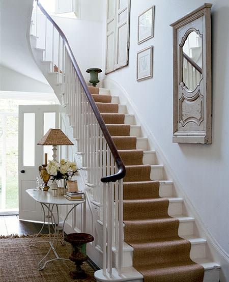 Cottage And Vine Diy Stair Runner Anyone